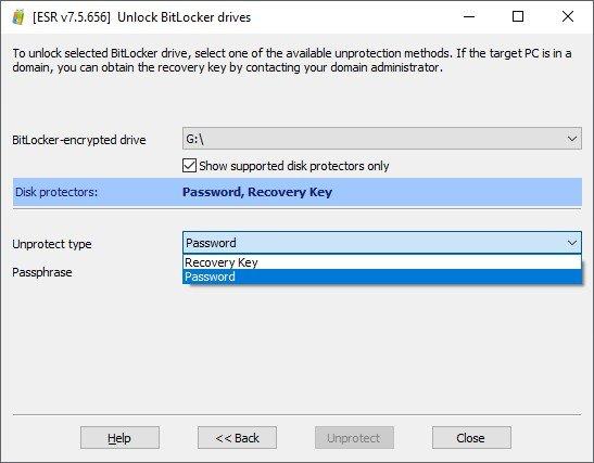 BitLocker sürücüsünün kilidini açmak