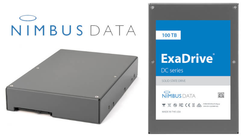 100 TB Kapasiteli Nimbus Data SATA SSD