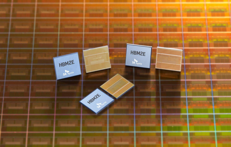 SK Hynix HBM2E Üretimine Başladı