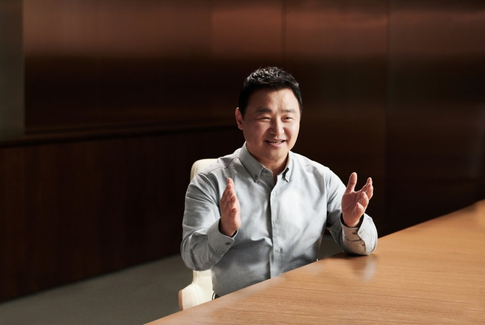 Samsung Mobile CEO TM Roh