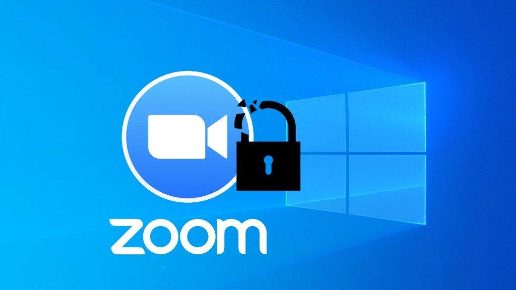 Zoom Windows Güvenlik