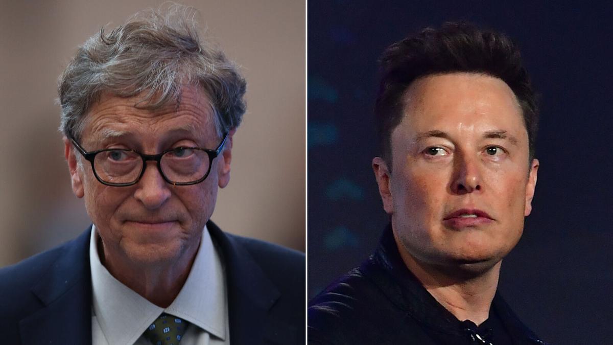 Elon Musk, Bill Gates
