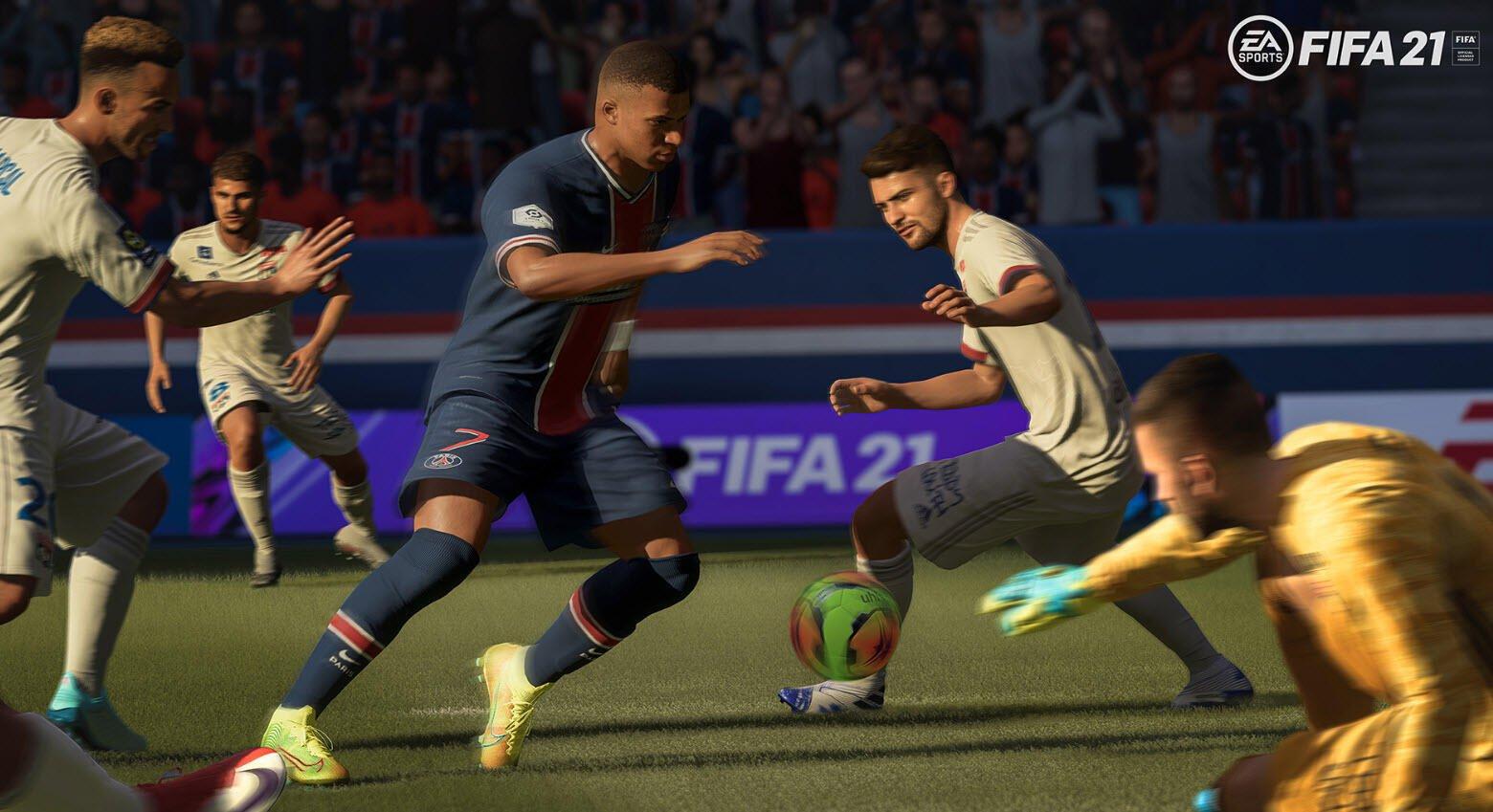 FIFA 21 oynanış videosu