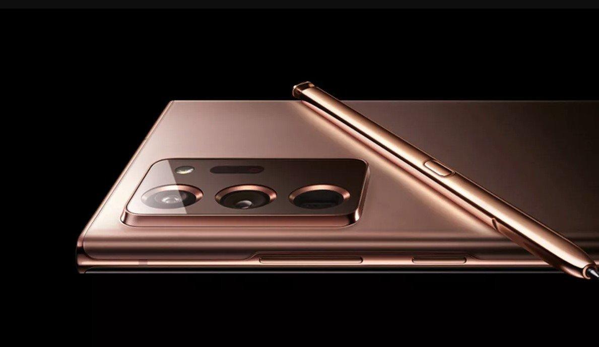 Galaxy Note 20 tasarımı