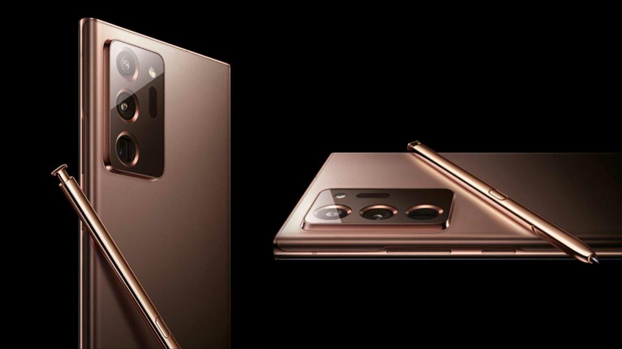 Galaxy Note 20 Ultra Snadpragon 865 Plus işlemci