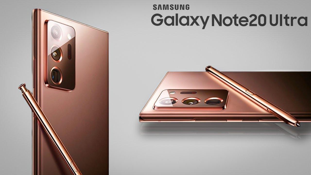 Galaxy Note 20 Ultra tasarımı