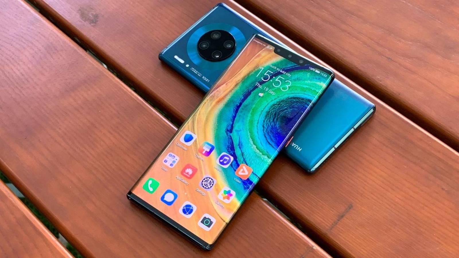 Huawei Mate 40 ekranı