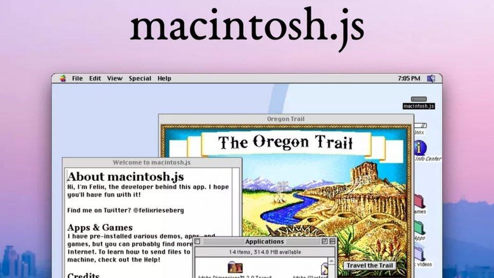 Mac OS 8 Emulatörü