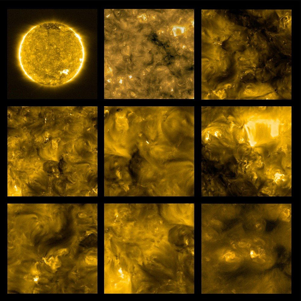 NASA güneşin en yakın görüntüleri