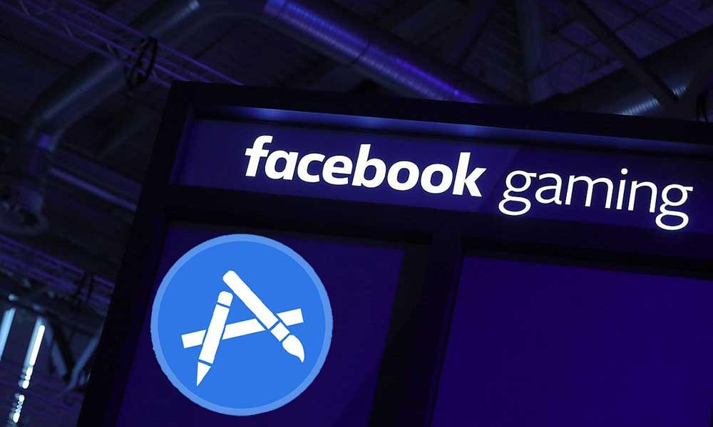 facebook gaming app store