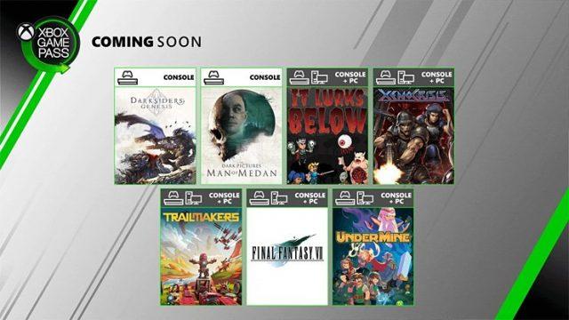Xbox Game Pass Ağustos