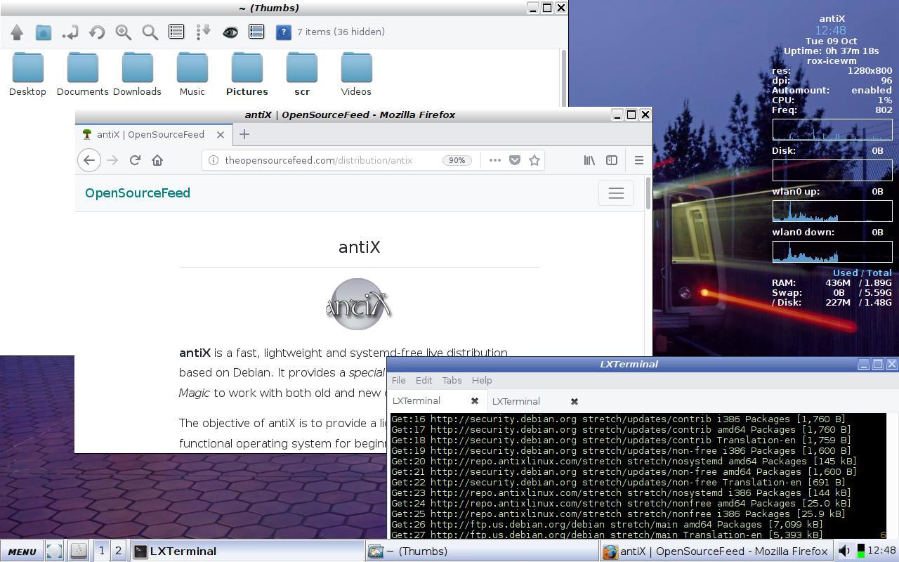En hafif 15 Linux dağıtımı