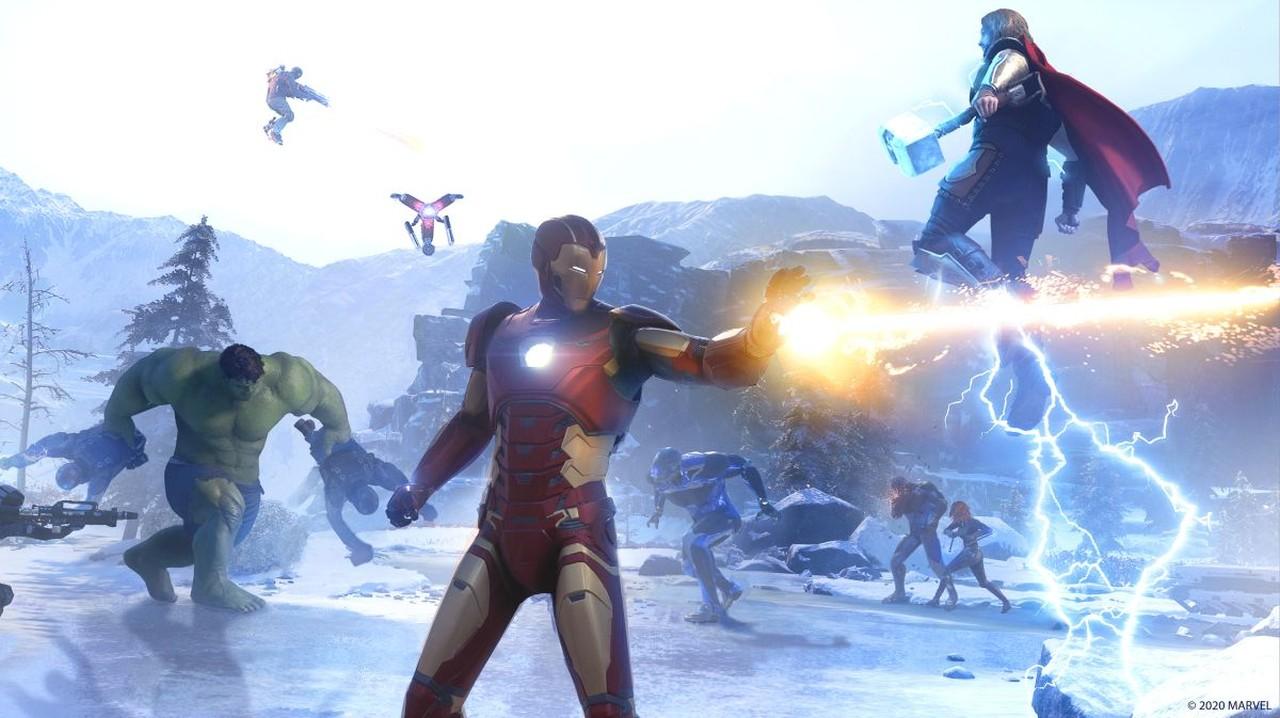 Marvel's Avengers kahramanlar