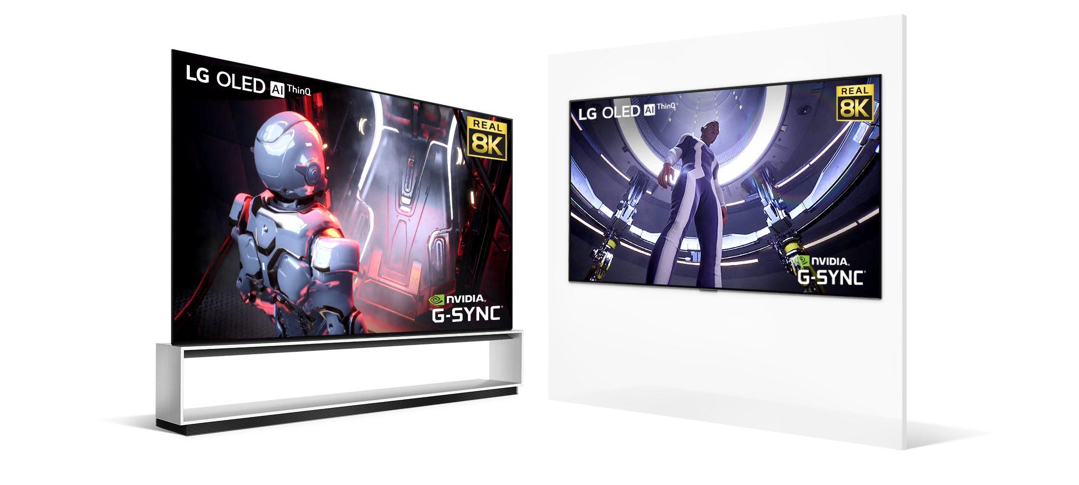 RTX 3000 Destekli Televizyon LG 8K OLED TV