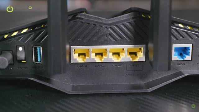RT-AX82U Portlar