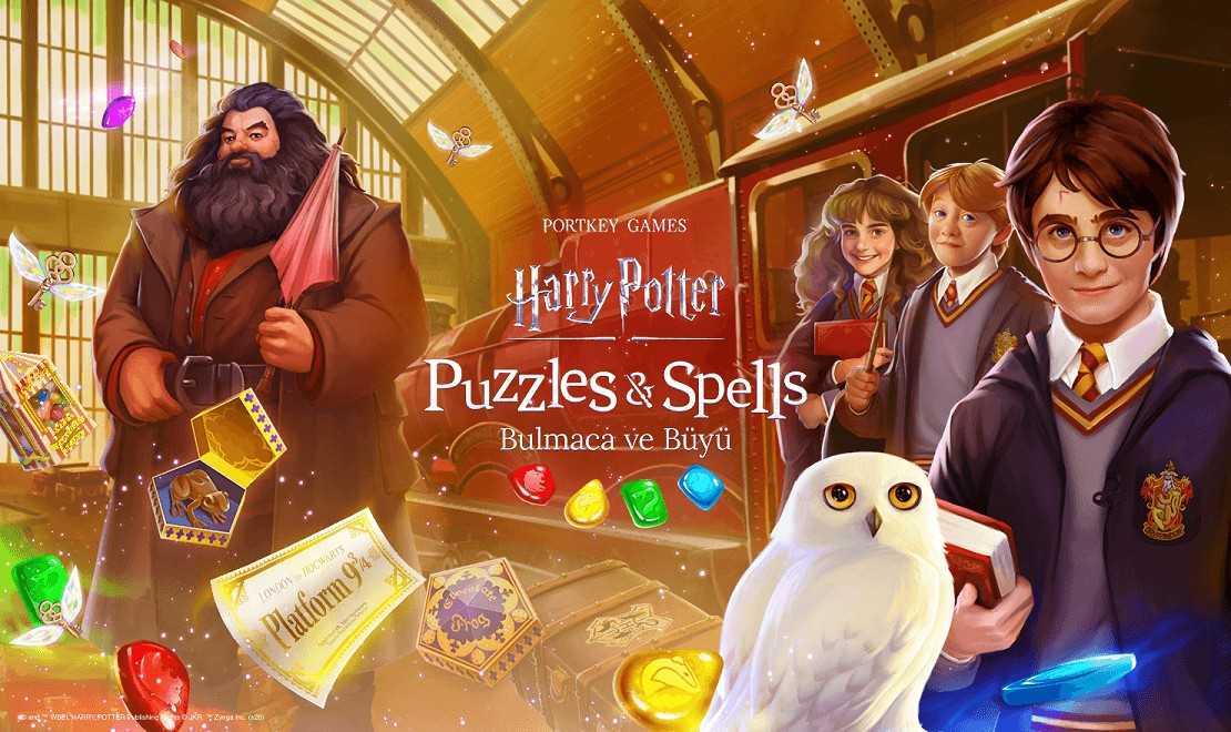 Harry Potter Puzzles & Spells Android ve iOS
