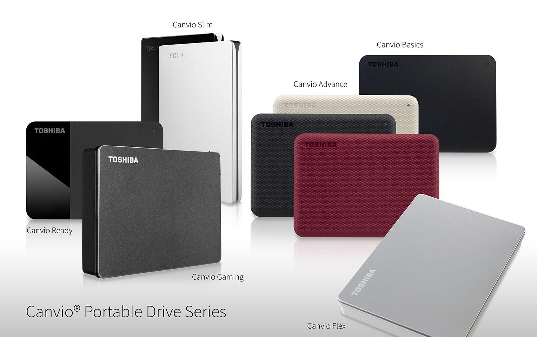Toshiba Canvio Taşınabilir Disk