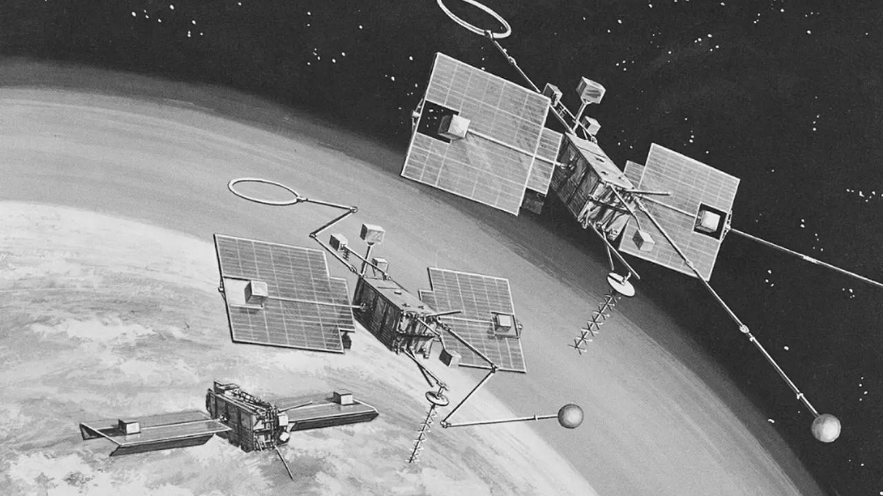 NASA OGO-1 Uydusu Dünya'ya Döndü