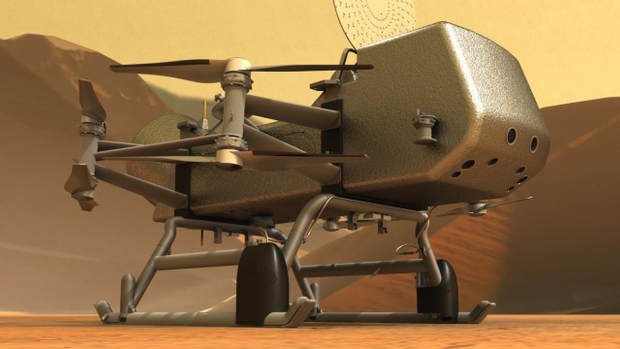 NASA Titan Drone