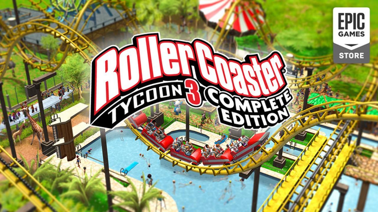 Roller Coaster Tycoon 3 Ücretsiz