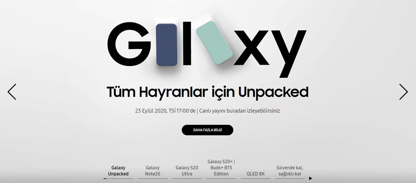 Samsung Galaxy S20 FE tanıtım tarihi
