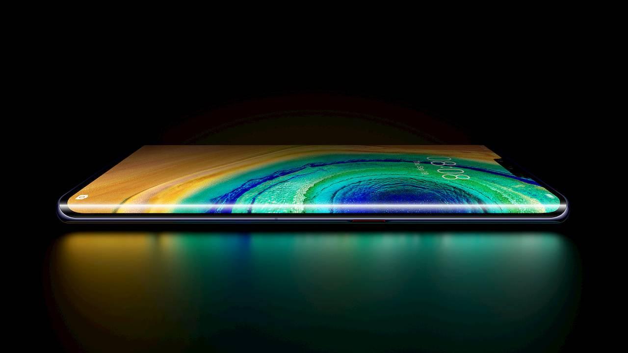 Samsung ve LG Huawei ekran