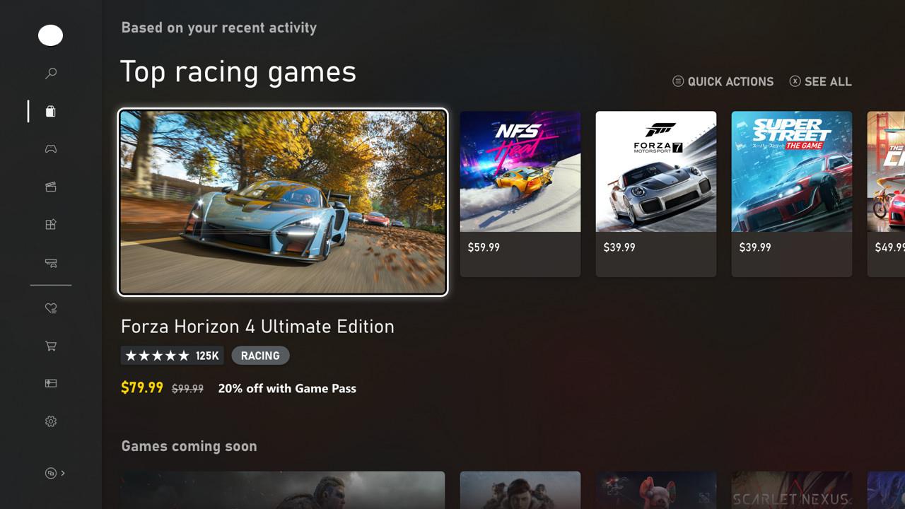 Xbox Microsoft Store