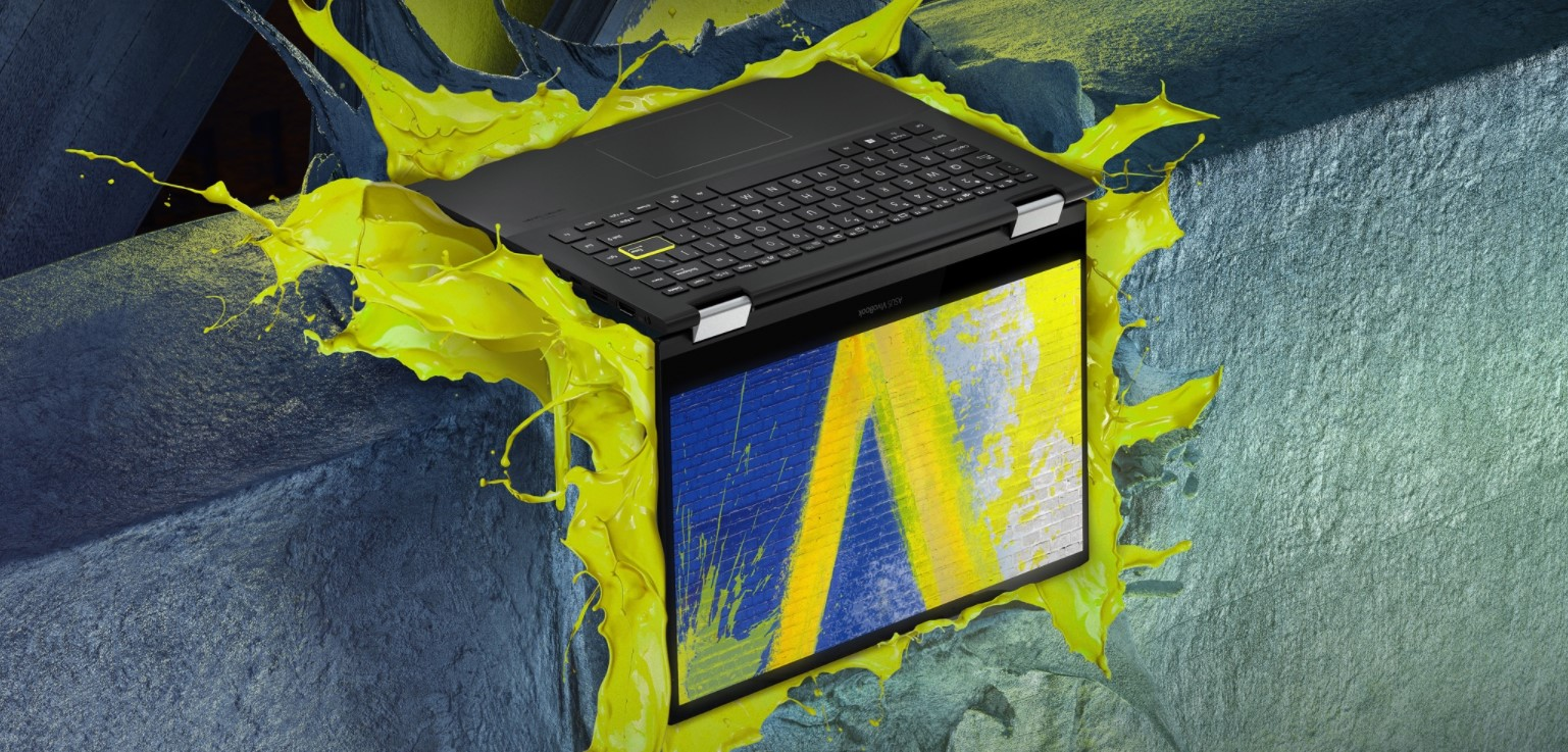 Vivobook Flip 14 Intel Xe GPU