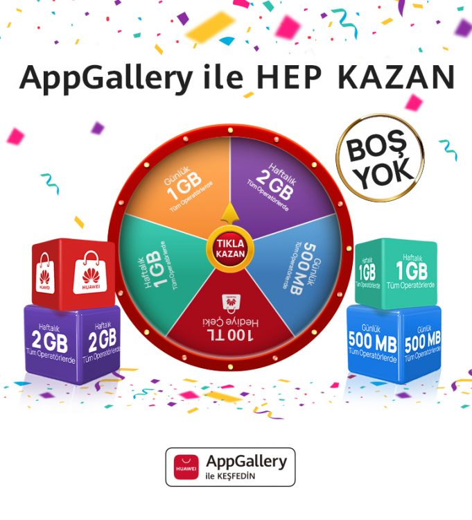 AppGallery ile Hep Kazan Kampanyası