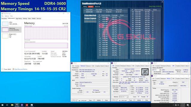 G.Skill, Düşük Gecikmeli DDR4-3600 RAM'lerini Duyurdu