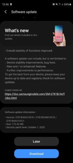 Galaxy-S20-FE-güncelleme