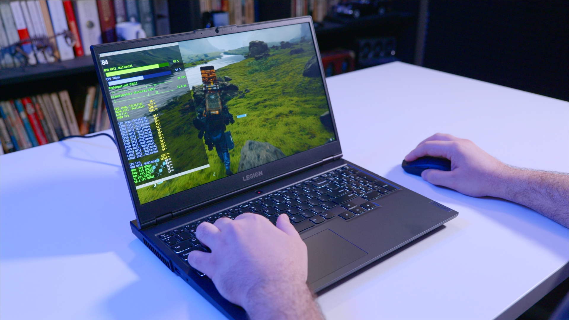 RTX 2060'lı Lenovo Legion Laptop İncelemesi: Legion 5i