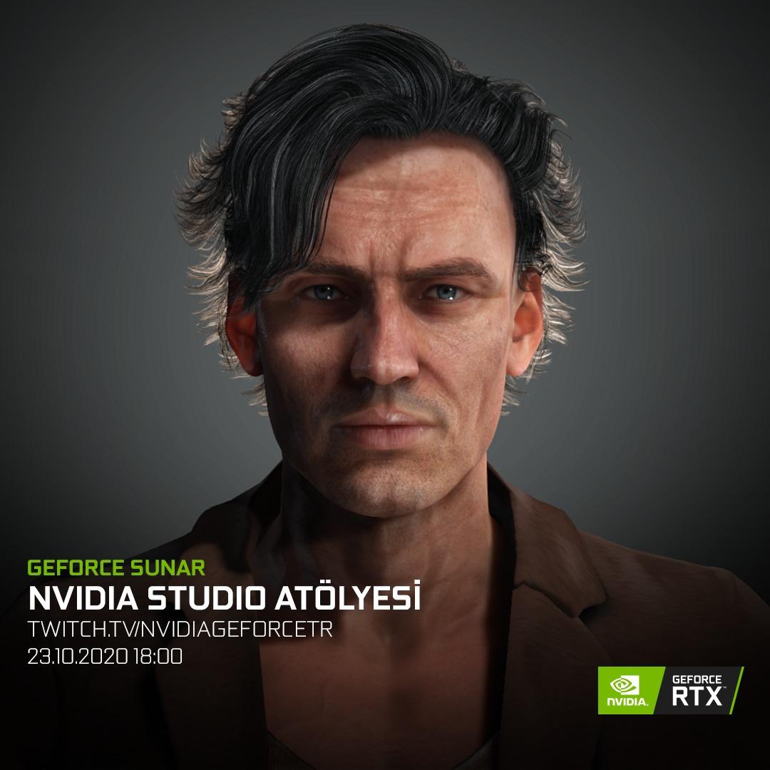 NVIDIA Studio Workshop Serisiyle 3 Boyutlu Modelleme Eğitimleri Başlıyor