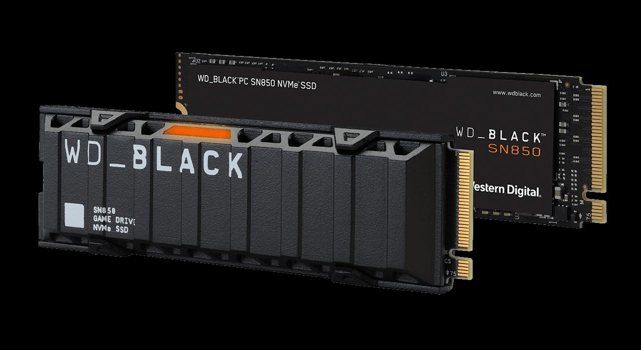 Western Digital SN850 PCIe 4.0 M.2 NVMe SSD