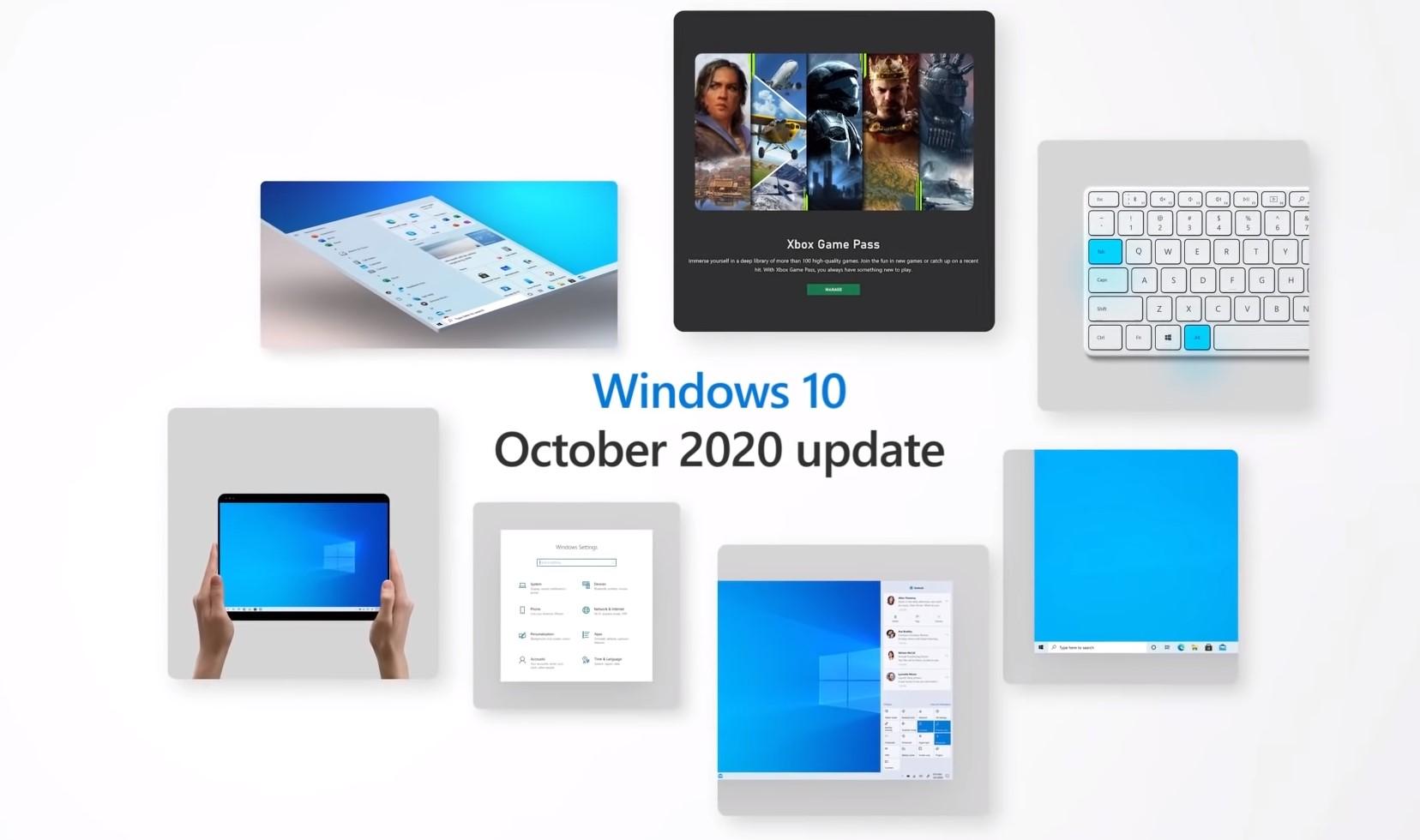 Windows 10 Ekim 2020 Güncellemesi Yayınlandı