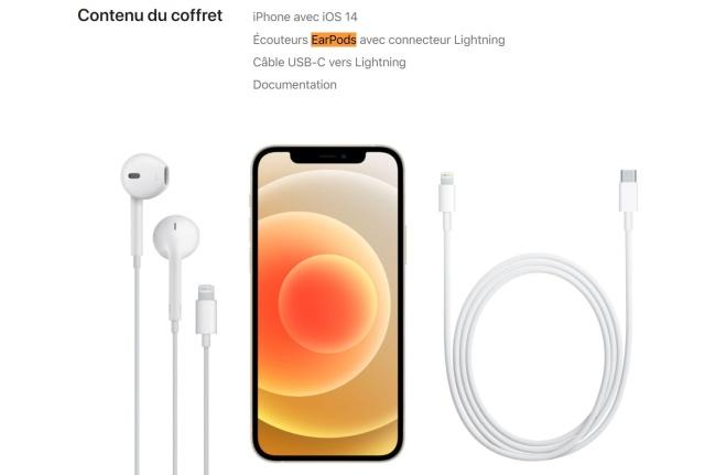 iPhone 12 EarPods kulaklık