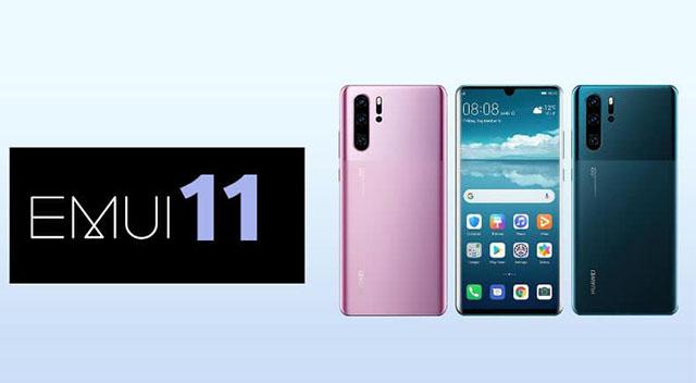 EMUI 11 güncellemesi alacak Huawei telefonlar