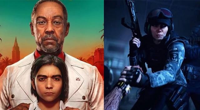 Far Cry 6 ve Rainbow Six Quarantine