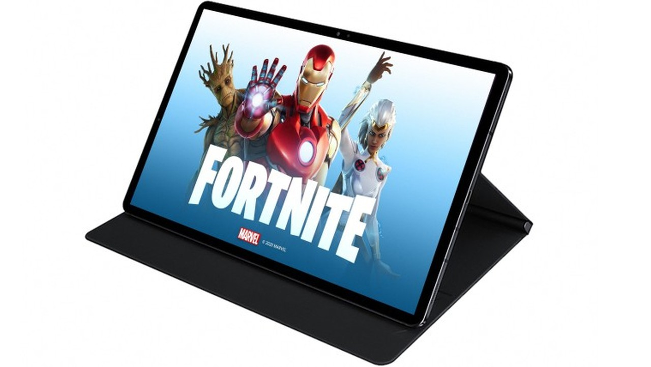 Galaxy Tab S7 Fortnite