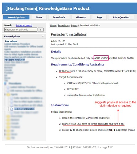 Hacking Team sızıntılarında ortaya çıkan UEFI bootkit zararlısı