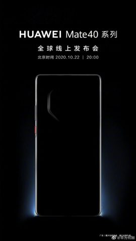 Huawei Mate 40 kamera tasarımı