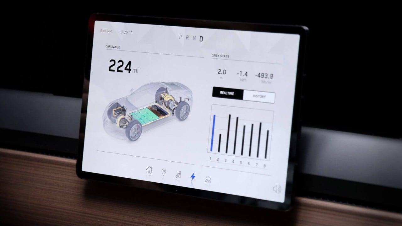 Hummer EV Unreal Engine Bilgi Eğlence Ekranı
