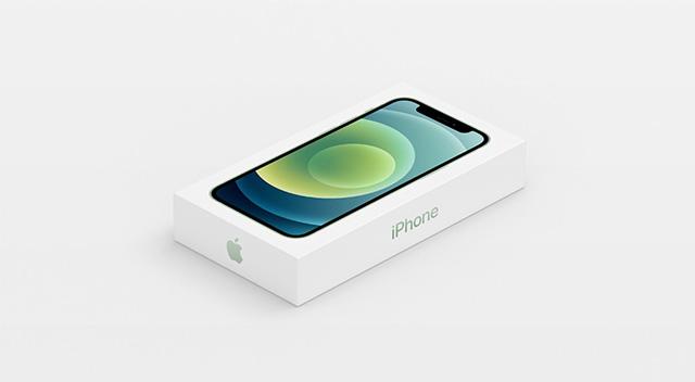 iPhone 12 kutusundan şarj aleti ve earpods