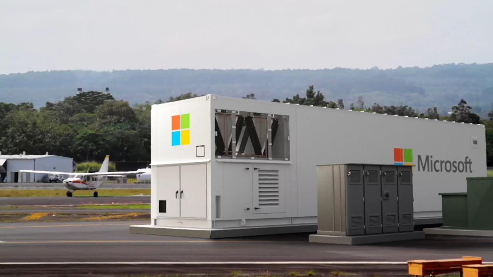 Microsoft, Taşınabilir Veri Merkezi Geliştiriyor