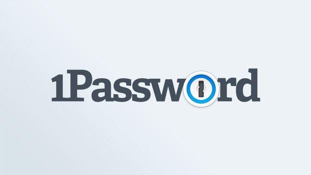 1Password macOS Big Sur