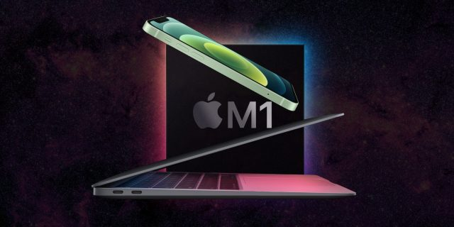 Apple M1 Mac iPhone