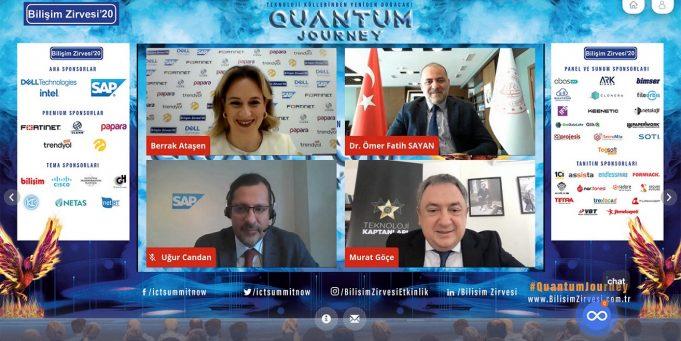 Bilişim Zirvesi'20: Kuantum Yolculuğu Başladı