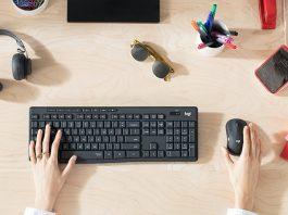 Logitech MK295 Sessiz Kablosuz Klavye & Mouse Seti