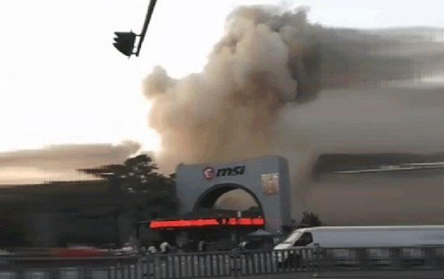 MSI Çin Fabrika Yangını