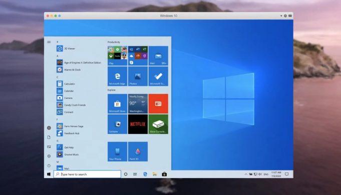 Parallels Desktop Big Sur